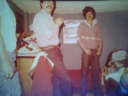 Con carlos mercado 1977 aprox